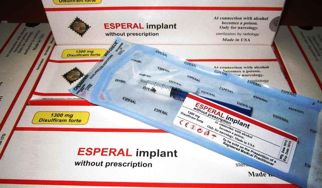 Имплантация препарата Эспераль в Климовске стоимость